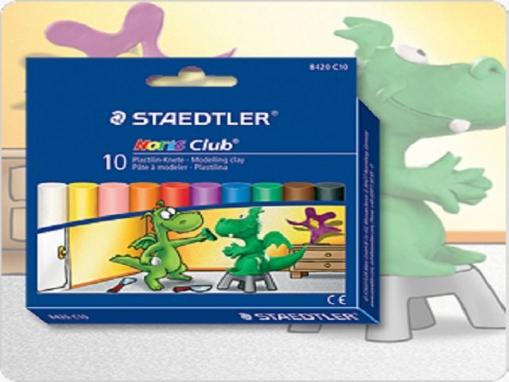 1.000 g 1 kg verschiedene Farben Knete Noris Staedtler Plastilin