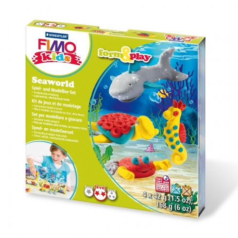 "Fimo kids Form&Play Set ""seaworld"""