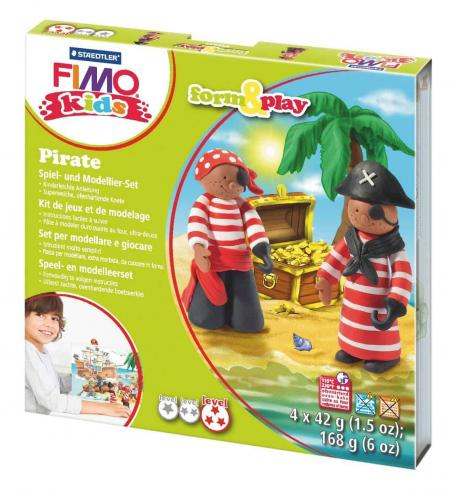 "Fimo kids Form&Play Set ""pirate""..."