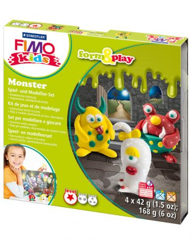 "Fimo kids Form&Play Set ""monster"""